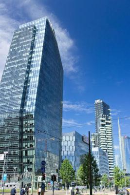 Foto grattacielo diamond tower a Milano